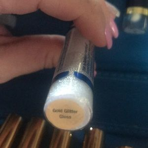 Lipsense Gold Glitter Gloss